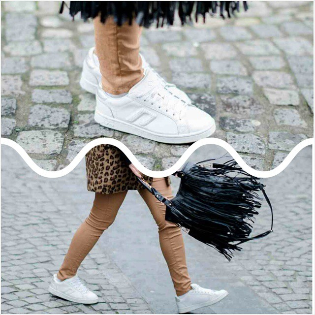 Details of the latest post! #pinkwishblog #blogger #fashion #sneakers #fringed #camel #leopard