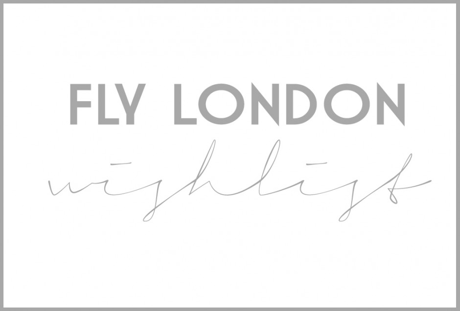 fly london-WISHLIST