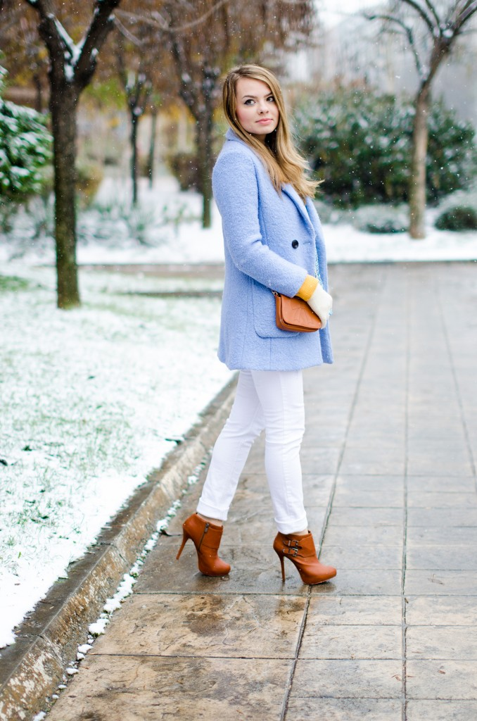 winter milanoo blue coat white pants brown boots 12