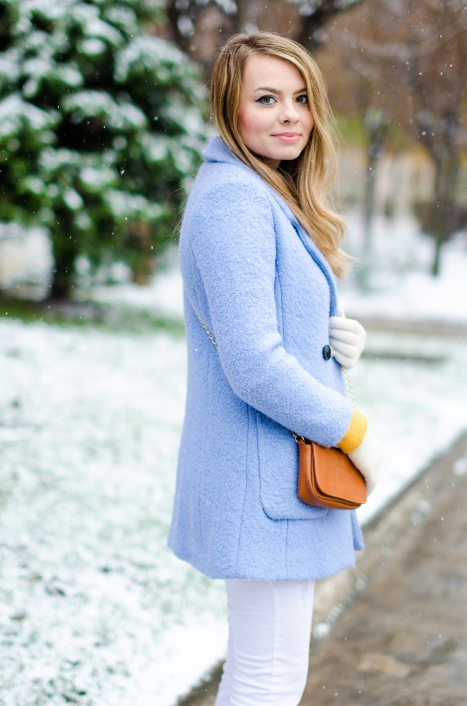 winter milanoo blue coat white pants brown boots 14