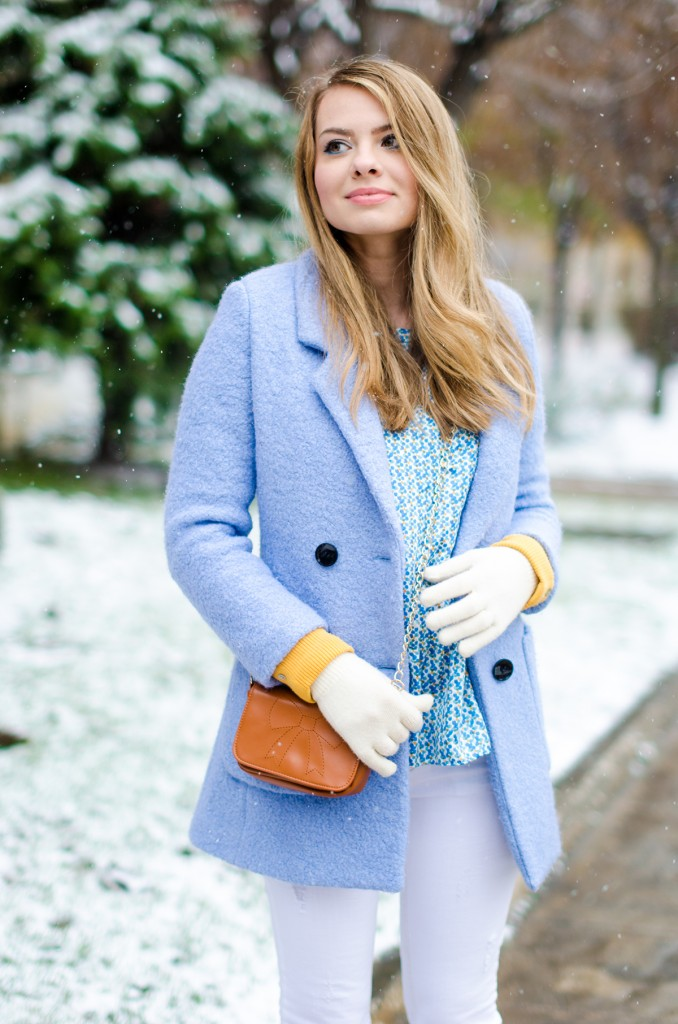 winter milanoo blue coat white pants brown boots 5