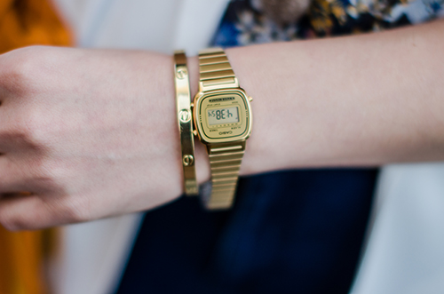 gold-vintage-casio-watch-bangle