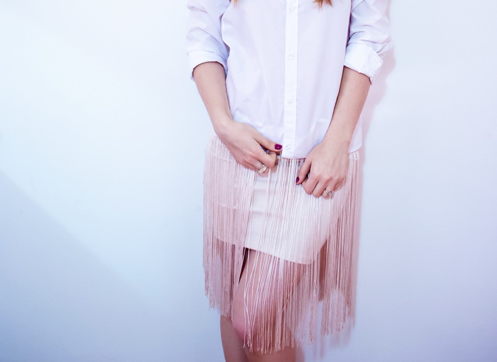 white-shirt-fringed-pink-skirt