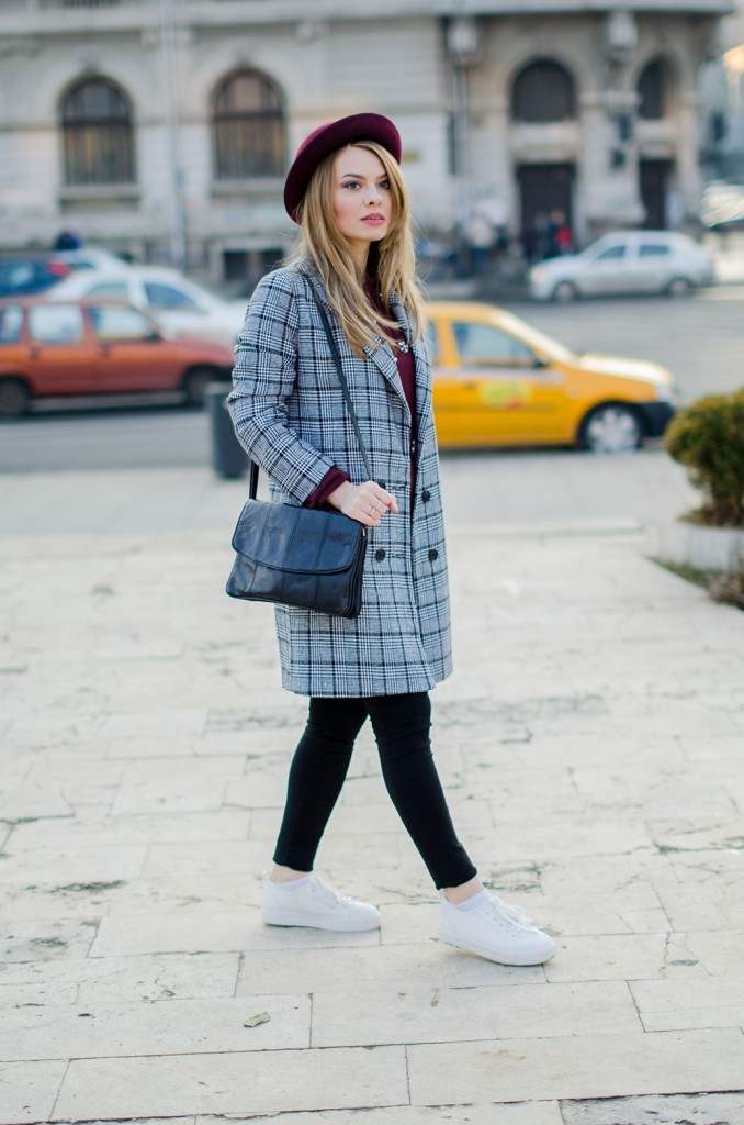 marsala-shirt-marsala-hat-white-sneakers-black-and-white-coat (4)