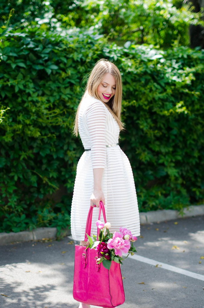 sheinside-white-midi-dress-pink-bow-heels-peonies-pink-feminine-outfit (10)