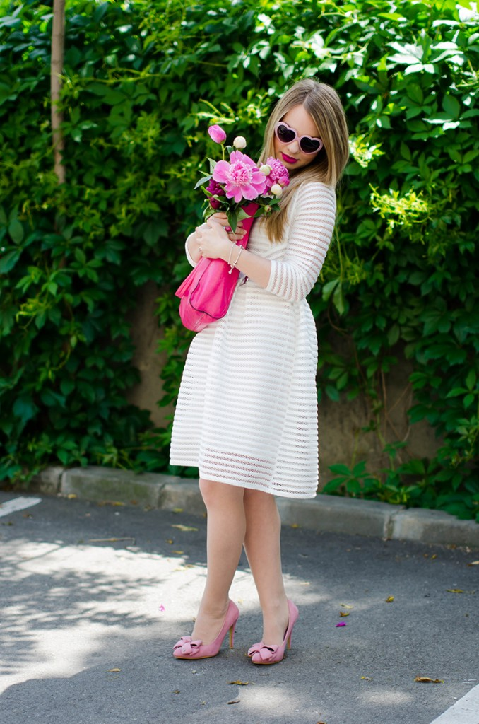sheinside-white-midi-dress-pink-bow-heels-peonies-pink-feminine-outfit (16)