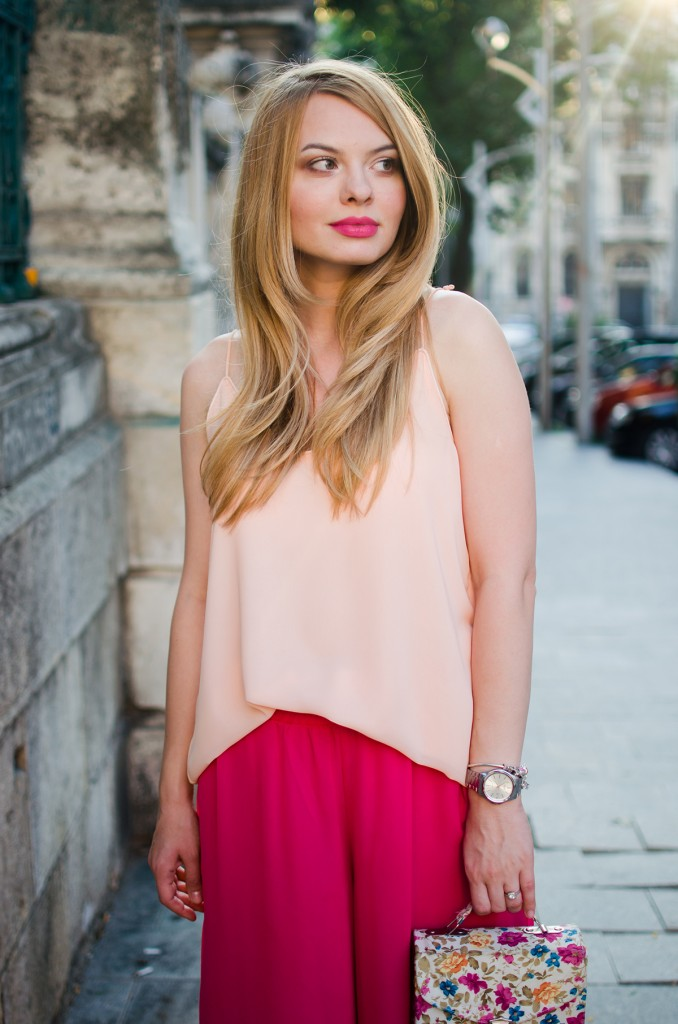 pink-palazzo-pants-peach-top-outfit-pink-wish-fashion-2