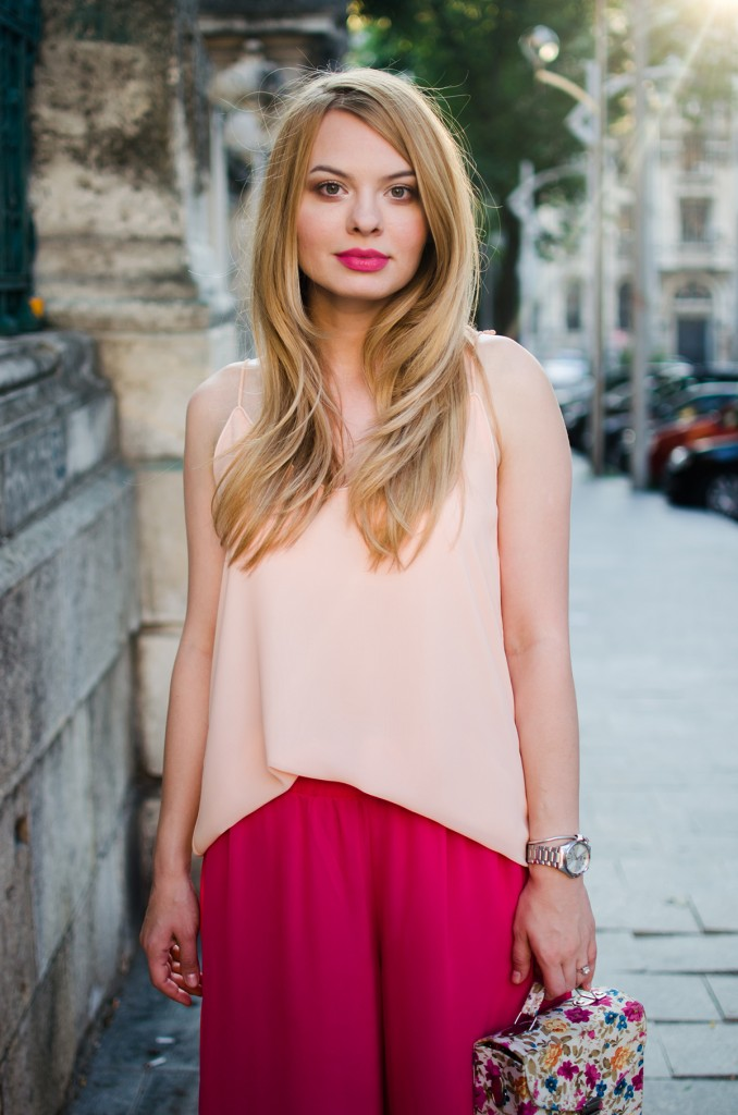 pink-palazzo-pants-peach-top-outfit-pink-wish-fashion-6