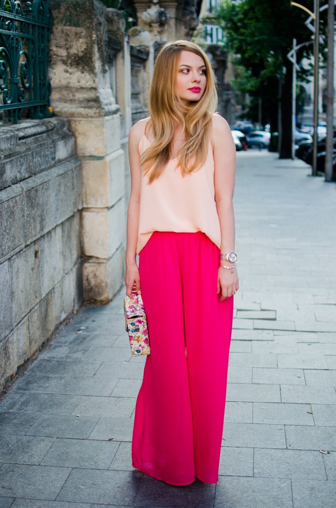 pink-palazzo-pants-peach-top-outfit-pink-wish-fashion-8