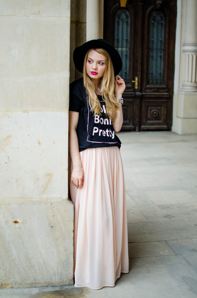 pink-long-dress-black-tshirt-bonita-jolie-pretty-black-hm-hat-20