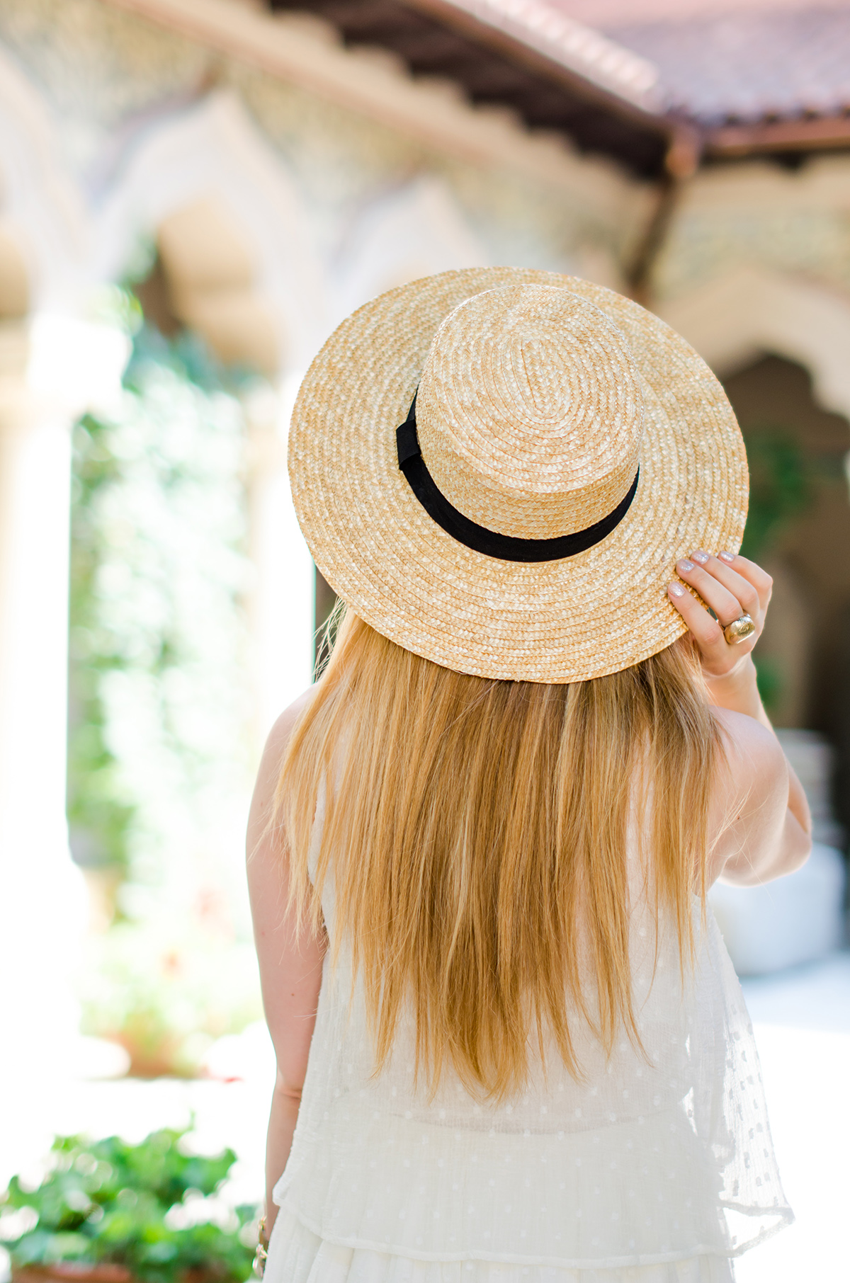 9ebb439a Summer musts: white dresses and straw hats - Pink WishPink Wish