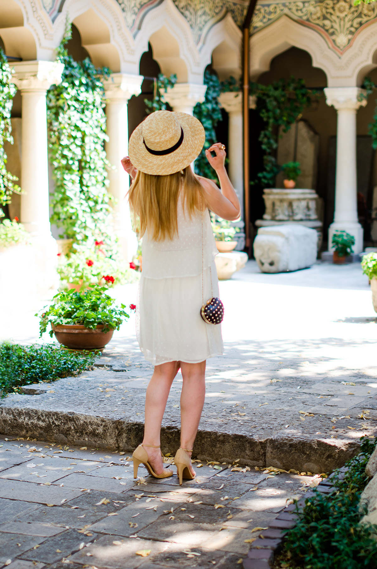 Summer Musts White Dresses And Straw Hats Pink Wishpink