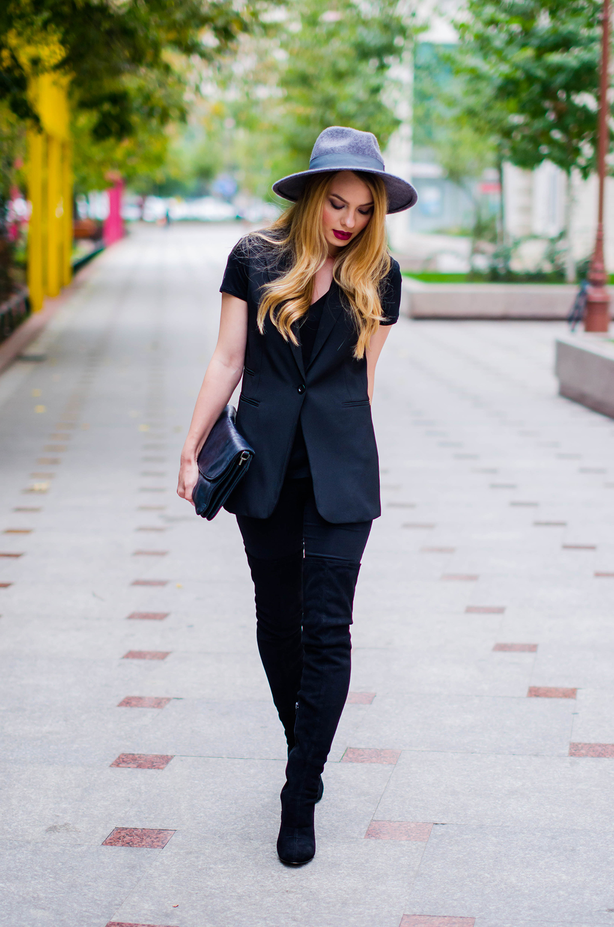 all-black-outfit-asos-over-the-knee-boots-black-vest (3)