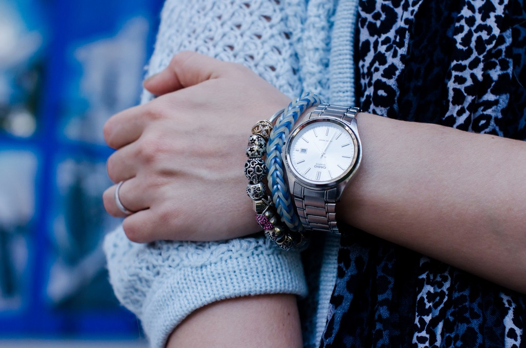 casio-silver-watch-pandora-bracelet