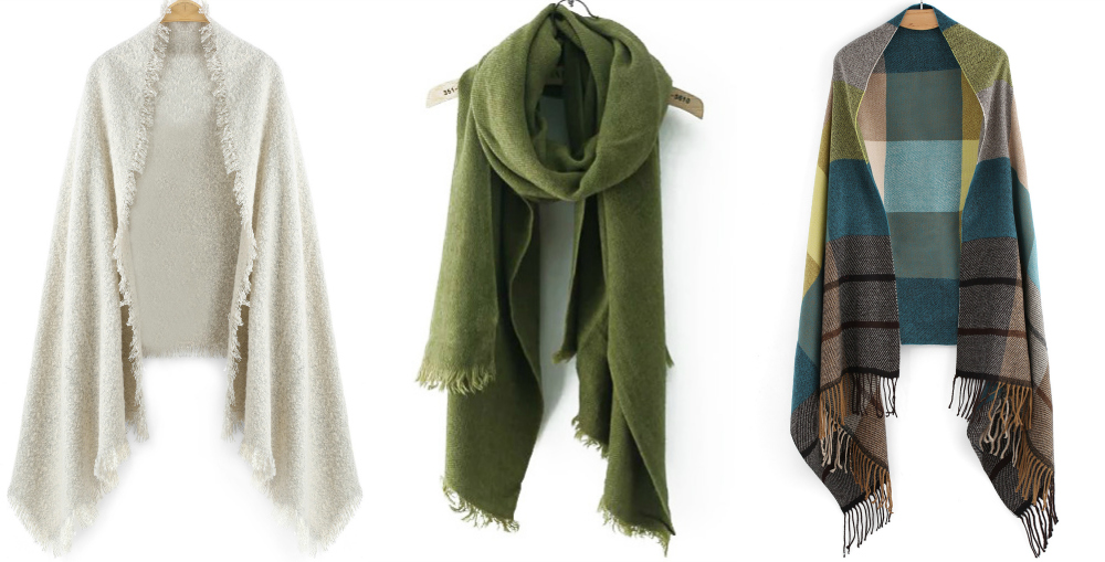 green-scarves