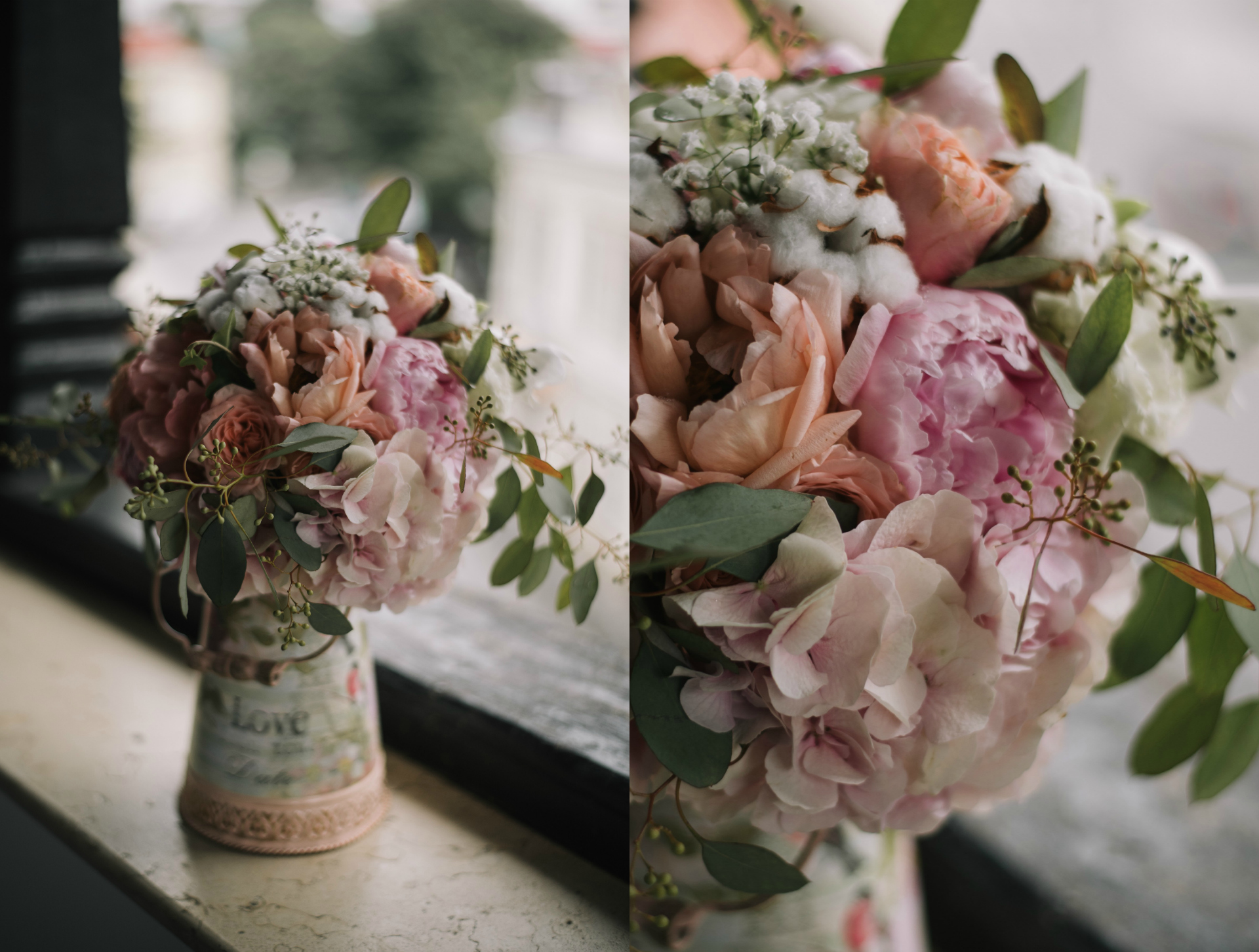 pink-natural-poenies-wedding-bouquet-