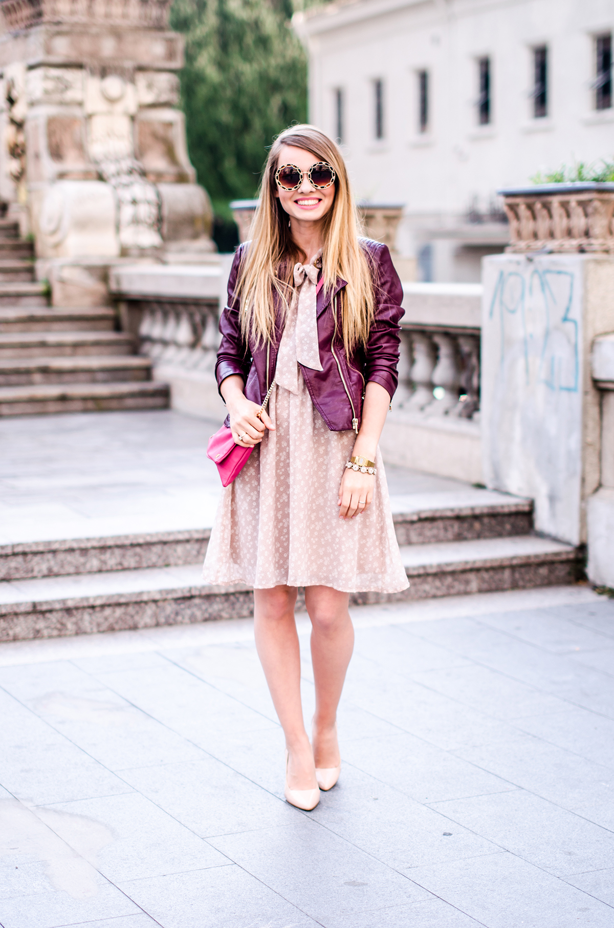 feminine-dress-bonprix-burgundy-jacket-outfit-pink-wish (2)