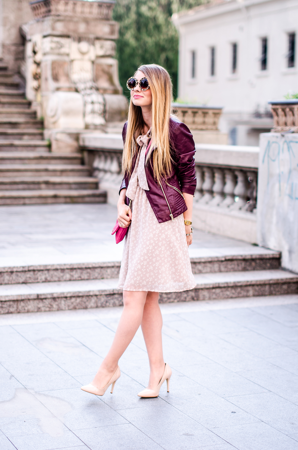 feminine-dress-bonprix-burgundy-jacket-outfit-pink-wish (5)