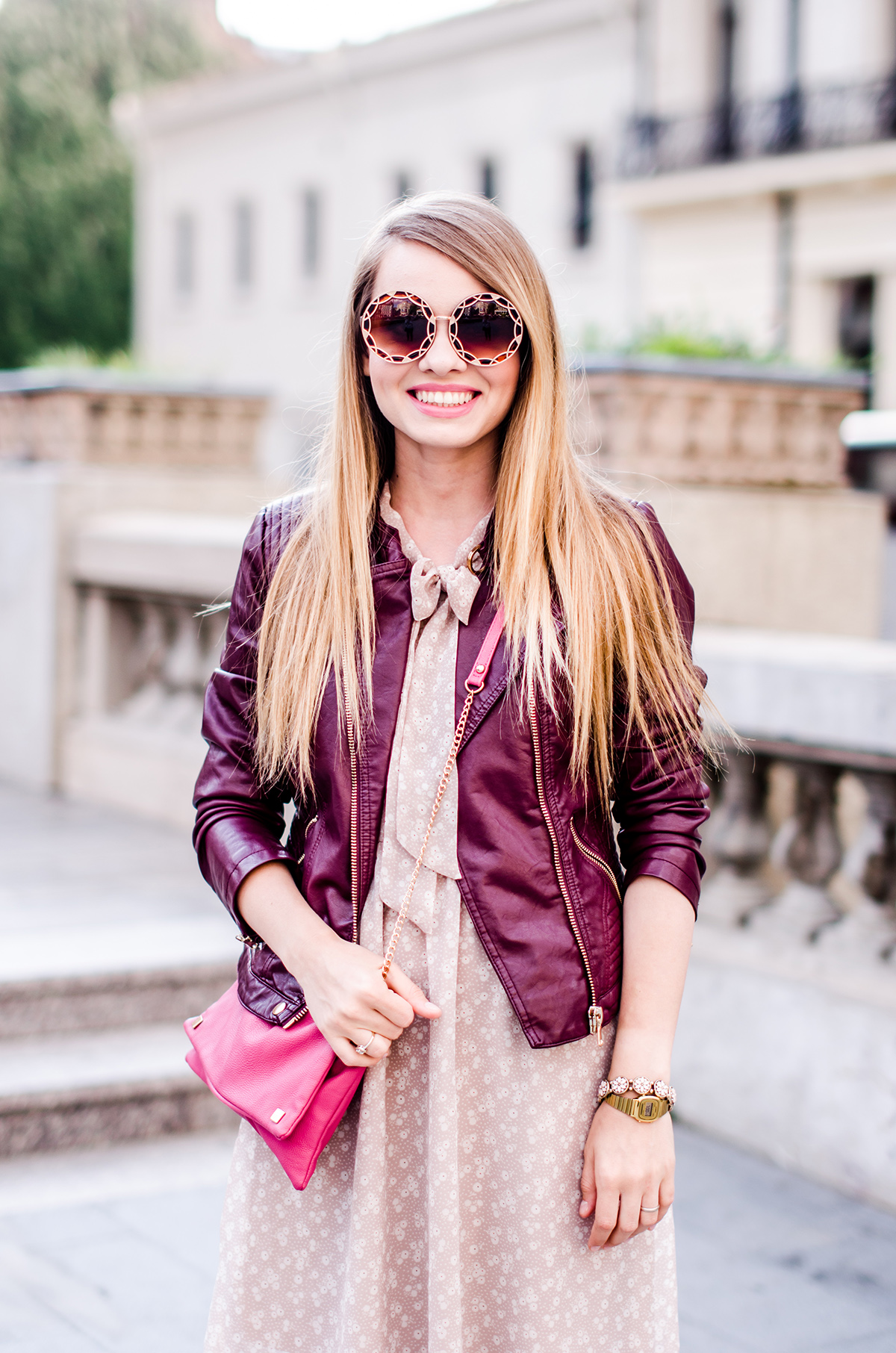 feminine-dress-bonprix-burgundy-jacket-outfit-pink-wish (7)