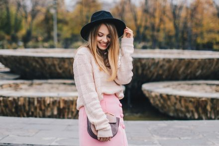 pink-turtleneck-pink-mini-skirt-black-hat-over-theknee-boots-1