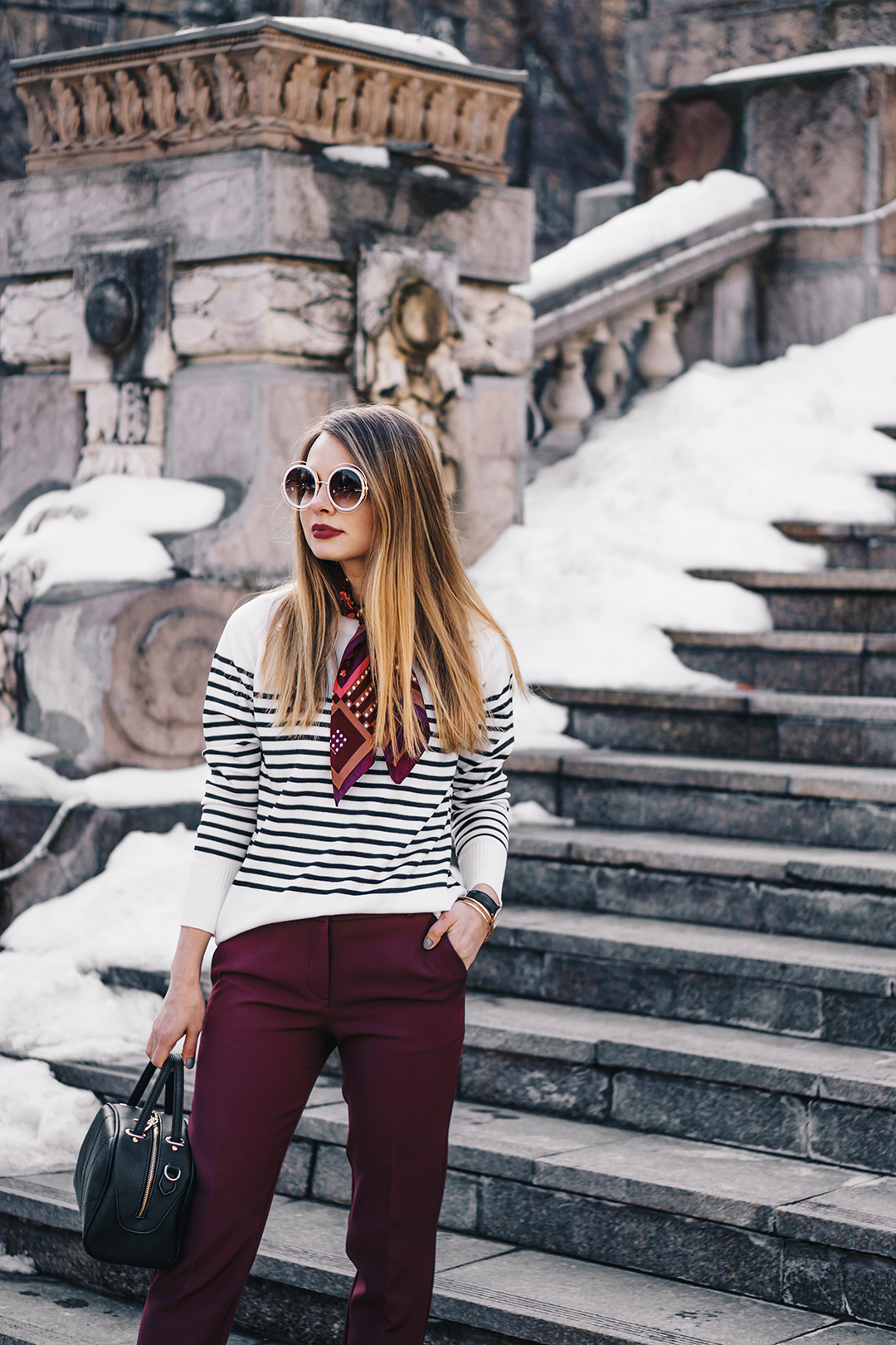 burgundy-office-pants-striped-sweater-pink-wish-outfit (6)