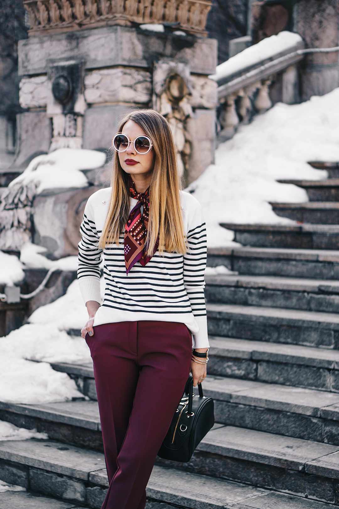burgundy-office-pants-striped-sweater-pink-wish-outfit (7)